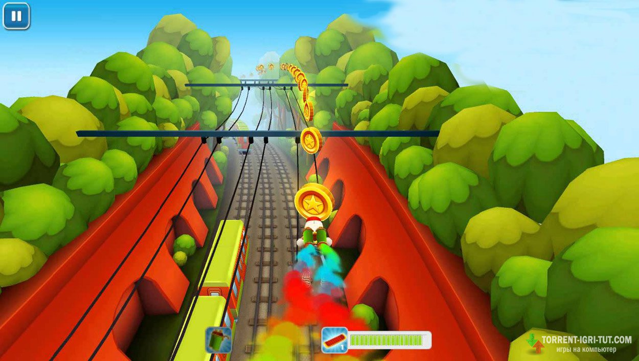 Скачать игру Subway Surfers Париж торрент