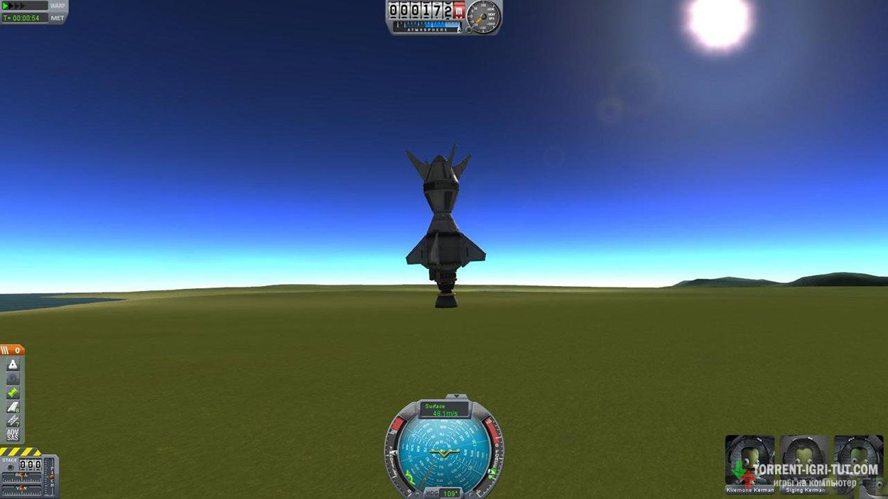 Скачать игру Kerbal Space Program торрент