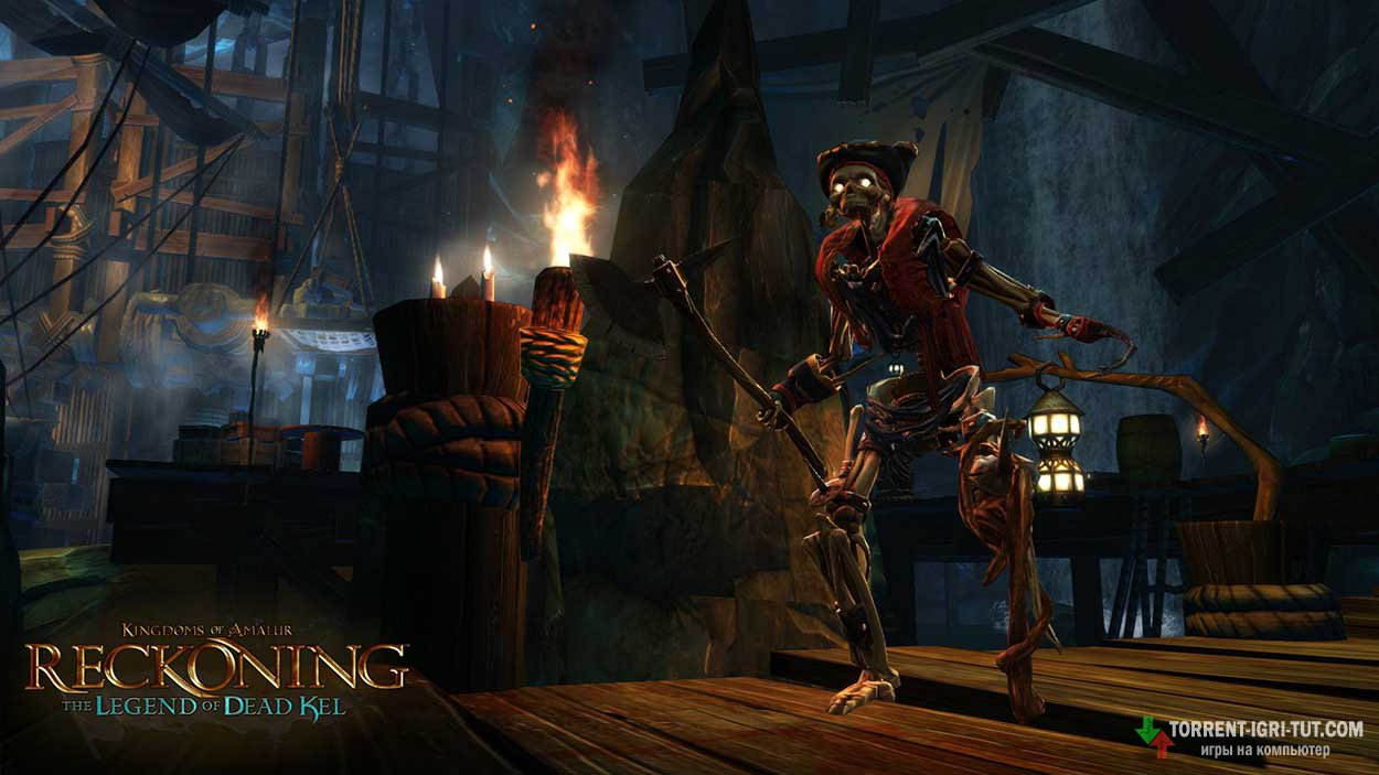 Скачать игру Kingdoms of Amalur Reckoning торрент